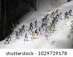 pyeongchang  south korea ... | Shutterstock . vector #1029729178