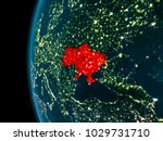 ukraine from orbit of planet... | Shutterstock . vector #1029731710