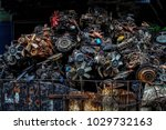 Scrap Yard For Recycle The Old...