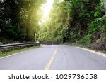Rural Country Road On The...