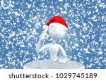 the original 3d character...   Shutterstock . vector #1029745189