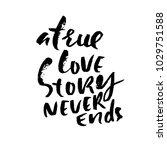 hand lettered inspirational... | Shutterstock .eps vector #1029751588