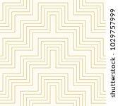 pattern geometric line chevron... | Shutterstock .eps vector #1029757999