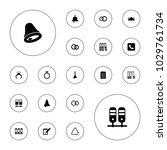 editable vector ring icons ... | Shutterstock .eps vector #1029761734