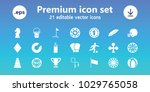 game icons. set of 21 editable... | Shutterstock .eps vector #1029765058