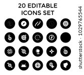 geography icons. set of 20... | Shutterstock .eps vector #1029765544