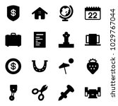Solid Vector Icon Set   Safe...