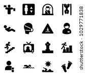 solid vector icon set   traffic ... | Shutterstock .eps vector #1029771838