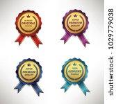 premium commercial golden red... | Shutterstock .eps vector #1029779038