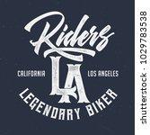 riders la california   vintage... | Shutterstock .eps vector #1029783538