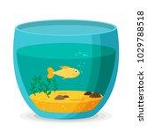 aquarium flat vector | Shutterstock .eps vector #1029788518
