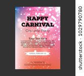 happy brazilian carnival day.... | Shutterstock .eps vector #1029790780