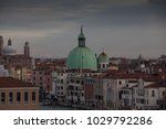 panoramic view on the roofs of... | Shutterstock . vector #1029792286