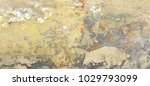 distressed yellow brown old... | Shutterstock . vector #1029793099