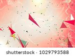 abstract background polygonal.... | Shutterstock . vector #1029793588