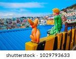 busan  south korea   january... | Shutterstock . vector #1029793633