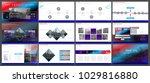 multifunctional presentation... | Shutterstock .eps vector #1029816880
