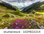 wonderful view on... | Shutterstock . vector #1029822214