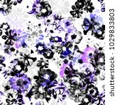 Seamless Graphical Photo Floral ...