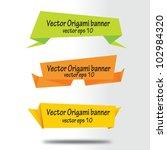 vector illustration of  paper...   Shutterstock .eps vector #102984320