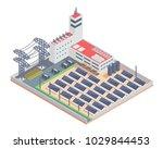 modern isometric industrial... | Shutterstock .eps vector #1029844453