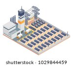 modern isometric industrial... | Shutterstock .eps vector #1029844459