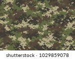 woodland summer camouflage.... | Shutterstock .eps vector #1029859078