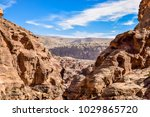 amazing panoramic view of the... | Shutterstock . vector #1029865720