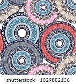blazing bandanna pattern | Shutterstock .eps vector #1029882136