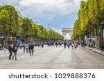 paris  france   september 2 ... | Shutterstock . vector #1029888376