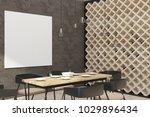 contemporary loft restaurant... | Shutterstock . vector #1029896434