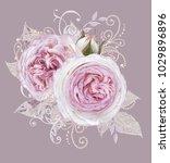 decorative decoration  paisley... | Shutterstock . vector #1029896896