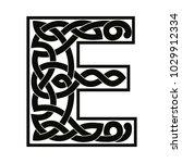 letter of the english alphabet... | Shutterstock .eps vector #1029912334