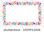 feast vector frame art graphics ... | Shutterstock .eps vector #1029912436