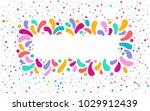 feast vector frame art graphics ... | Shutterstock .eps vector #1029912439