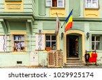 sigisoara  romania   june 4 ... | Shutterstock . vector #1029925174