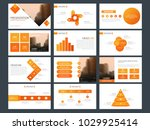 orange bundle infographic... | Shutterstock .eps vector #1029925414