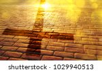 representation of the way of... | Shutterstock . vector #1029940513