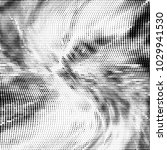 grunge halftone dots pattern...   Shutterstock .eps vector #1029941530