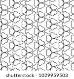 seamless geometric ornamental... | Shutterstock .eps vector #1029959503