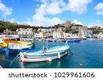 mgarr  gozo  malta   april 3 ... | Shutterstock . vector #1029961606