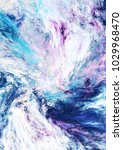 icy waves. blue artistic... | Shutterstock . vector #1029968470