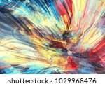bright artistic splashes.... | Shutterstock . vector #1029968476