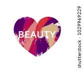 beauty logo concept design....   Shutterstock .eps vector #1029969229