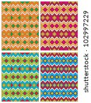 american indian pattern | Shutterstock .eps vector #102997229