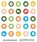 shipping icons set | Shutterstock .eps vector #1029974743