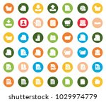 file icons set | Shutterstock .eps vector #1029974779