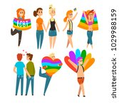 lgbt people community... | Shutterstock .eps vector #1029988159