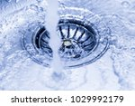a stream of clean water flowing ... | Shutterstock . vector #1029992179