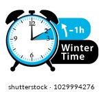 winter time. daylight saving...   Shutterstock .eps vector #1029994276